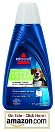 BISSELL 2X Pet Stain & Odor Portable Machine Formula