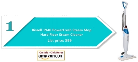 Steam mop - Bissell PowerFresh
